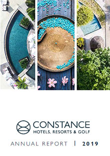 Constance Hotels & Resorts | Annual Report 2019
